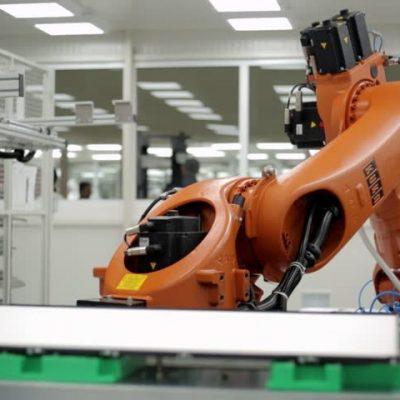 Pharmaceutical-robot-lab