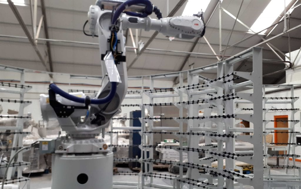 abb robot integration cell