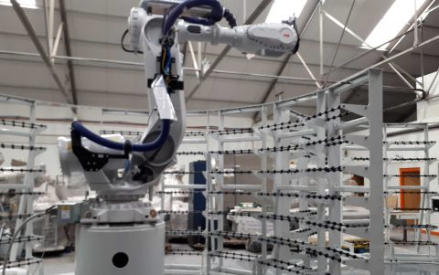 abb robot integration cell