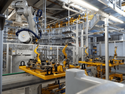 automation of production systems
