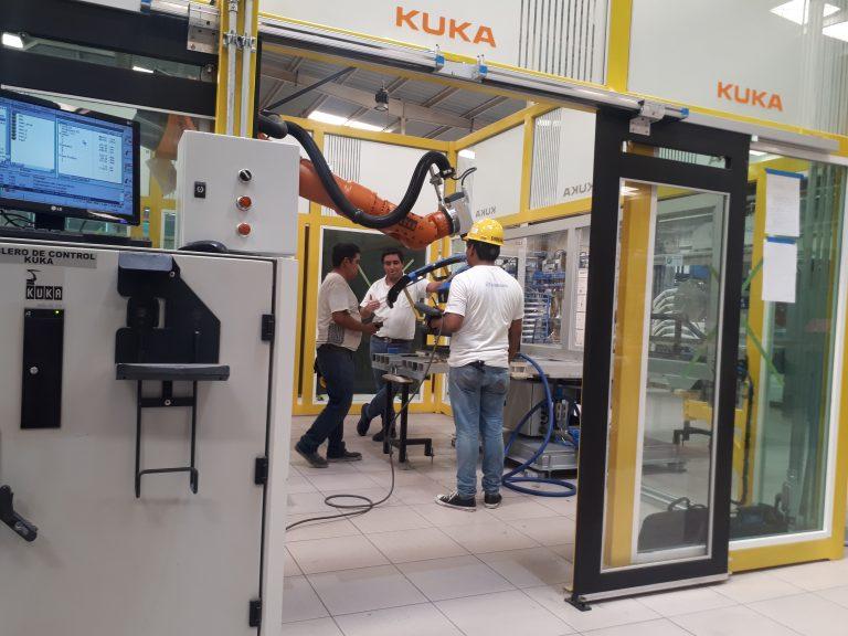 KUka robotic automation system