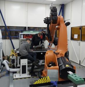 Robotic Milling main elements